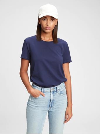 GAP - 100% Organic Cotton Vintage T-Shirt NAVY UNIFORM