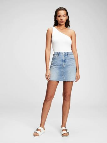 GAP - Denim Mini Skirt LIGHT WASH