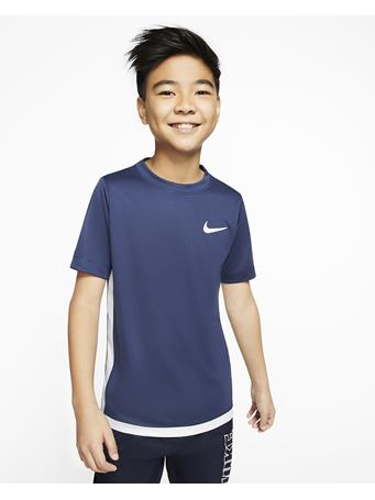 NIKE - Dri-Fit Trophy Short Sleeve Top MIDNIGHT NAVY