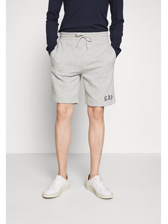 GAP -  Logo arch shorts REGULAR GREY