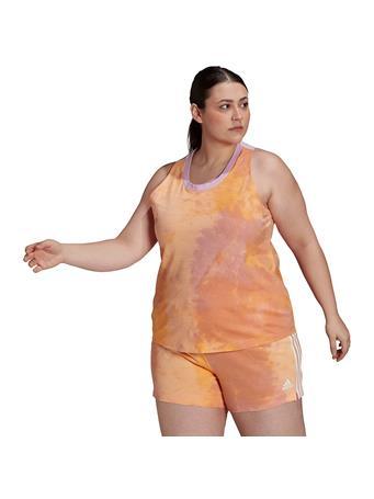 ADIDAS - Women's Summer Pack Plus Size Tank Top ORANGE