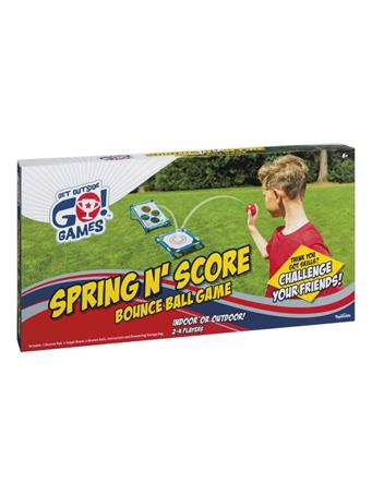 TOYSMITH - Spring N Score Bounce Ball Game NO COLOR