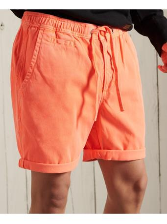 SUPERDRY - Sunscorched Chino Shorts FLURO CORAL