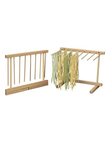 WE LOVE PASTA - Beechwood Collapsible Pasta Drying Rack NO COLOR