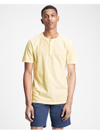 GAP - Lived-In Henley T-Shirt NEW HONEYSUCKLE
