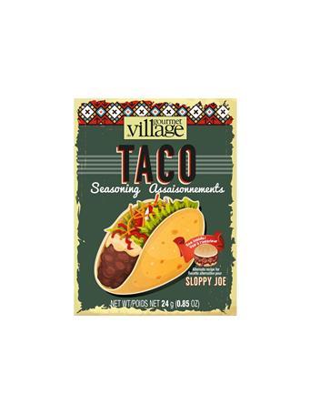 GOURMET DU VILLAGE - Taco Seasoning NO COLOR