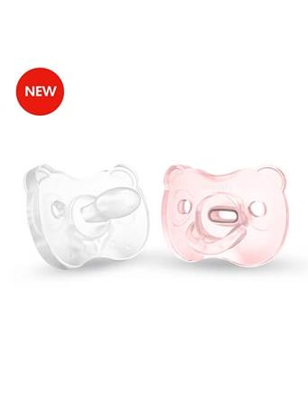 MEDELA - Soft Silicone Pacifier 0-6 Months PINK