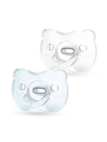 MEDELA - Soft Silicone Pacifier 0-6 Months BLUE