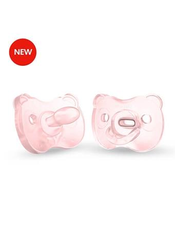 MEDELA - Soft Silicone Pacifier 6-18 Months PINK