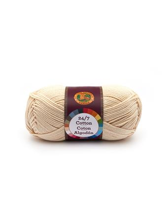 LION BRAND - 24/7 Cotton Yarn 98 ECRU