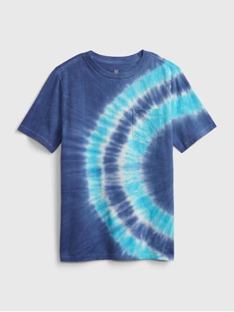 GAP - Kids Pocket T-Shirt DEEP COBALT