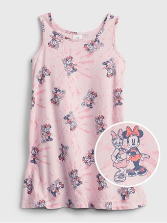 GAP - babyGap - Disney Minnie Mouse Graphic Tank Dress MINNIE MOUSE PRINT