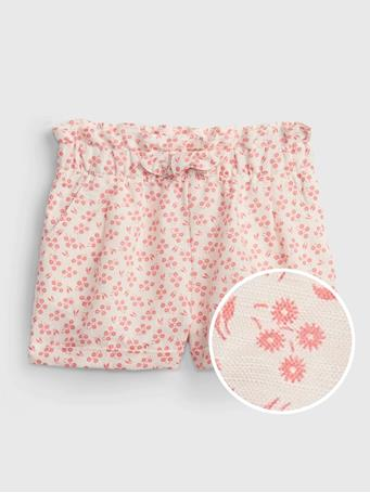 GAP - Toddler Pull-On Utility Shorts BOLD PINK DITSY FLORAL