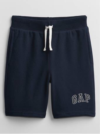 GAP - Kids Logo Pull-On Shorts BLUE GALAXY