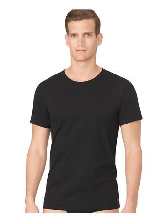 CALVIN KLEIN - Cotton Classic Fit Crewneck T-Shirt - 3-Pack BLACK