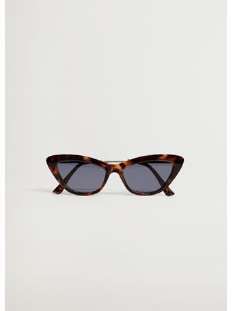 MANGO - Cat-eye Sunglasses DARK BROWN