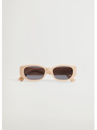 MANGO - Acetate Frame Sunglasses NATURAL WHITE