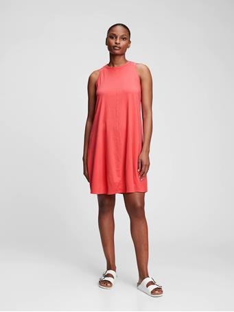 GAP - Sleeveless Swing Dress ROSE BUSH 1