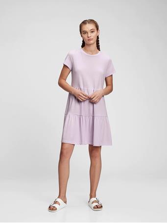 GAP - Tiered Dress LILAC BLOOM