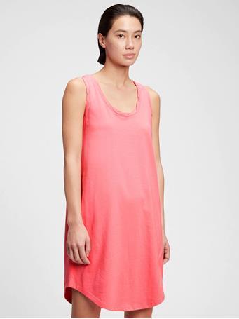 GAP - The Gen Good T-Shirt Dress APPLE BLOSSOM