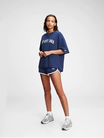 GAP - Gap Logo Short Sleeve Sweatshirt ELYSIAN BLUE