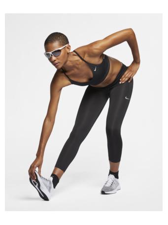 NIKE - Fast Women's Mid-Rise Crop Running Leggings BLACK