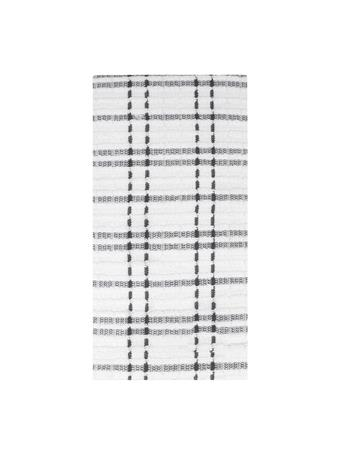 RITZ ROYALE - Checked Kitchen Towel Set 2-Pack GRAPHITE