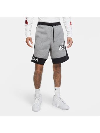 NIKE - Jordan Jumpman Classics Fleece Shorts CARBON HTR