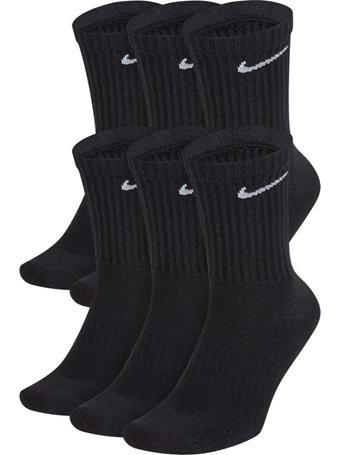 NIKE - Everyday Cushioned Crew Socks BLACK