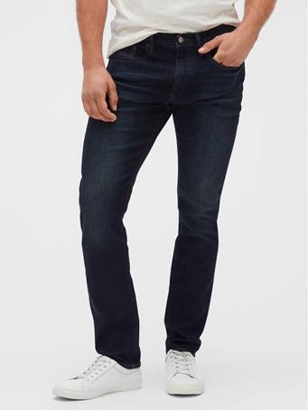 GAP - Soft Wear Slim Fit Jeans with GapFlex MIDNIGHT WASH