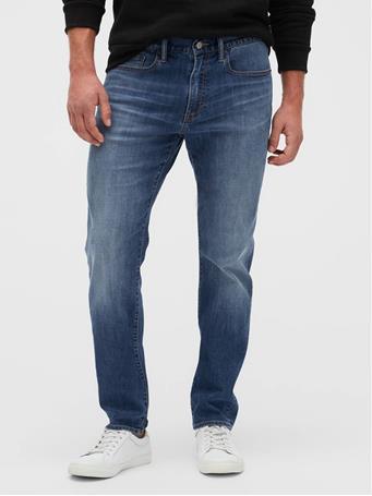 GAP - Soft Wear Slim Jeans With Washwell MEDIUM INDIGO