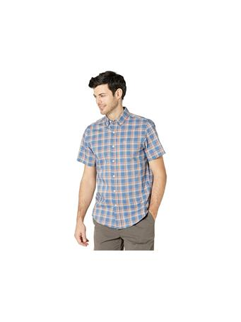 DOCKERS - Signature Comfort Flex Shirt, Classic Fit SUNSET BLUE