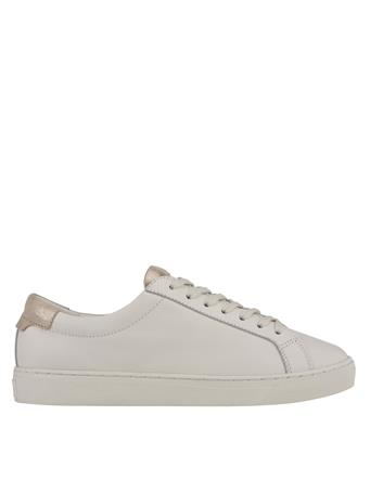 MARC FISHER - Kelli Lace Up Sneaker WHITE/GOLD