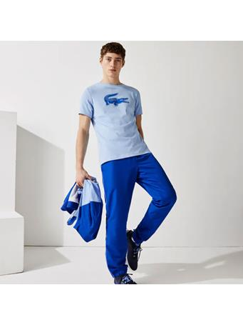 LACOSTE - Sport 3D Print Crocodile Breathable Jersey T-Shirt NATTIER BLUE