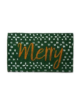 TAG - Coir Mat Merry GREEN