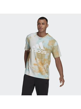 ADIDAS - Essentials Tie-Dyed Inspirational T-shirt HAZY ORANGE