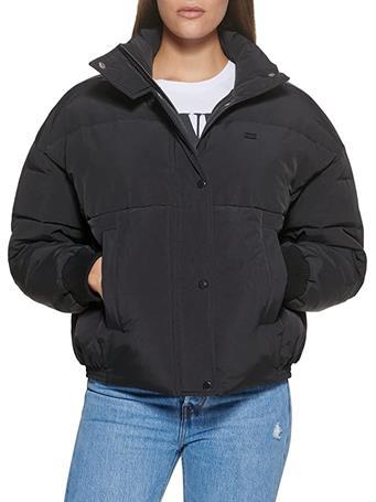 LEVIS - Taslan Fashion Bomber Jacket BLACK