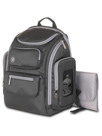 Jeep Backpack Db Black W Grey Trim No Color