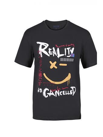 JACK & JONES - Crew Neck Printed T-Shirt TAP SHOE