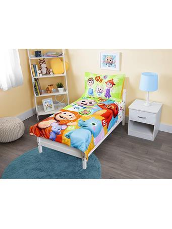 Cocomelon 4 Piece Bed Set NO COLOR