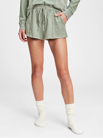 GAP - Slub Jersey Shorts SAGE