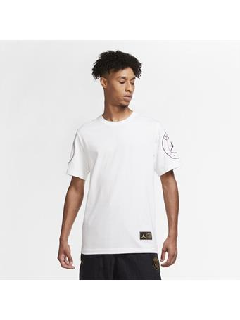NIKE - Paris Saint-Germain Logo T-Shirt WHITE