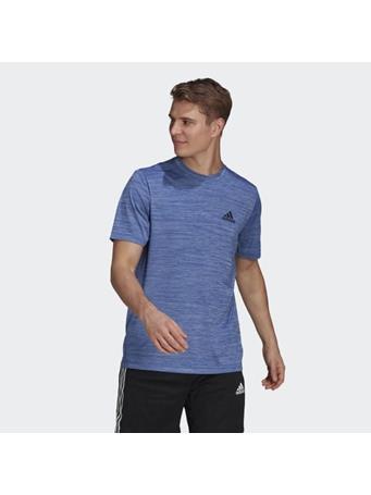 ADIDAS - AEROREADY Designed To Move Sport Stretch T-Shirt TEAM ROYAL