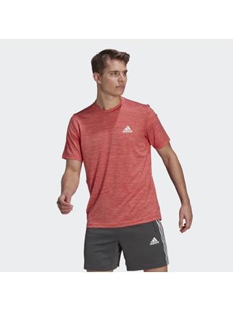 ADIDAS - AEROREADY Designed To Move Sport Stretch T-Shirt SCARLET RED