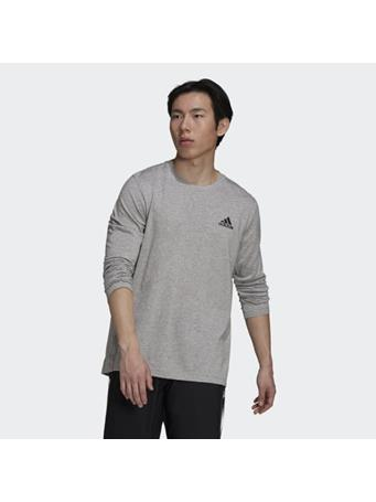 ADIDAS - AEROREADY Designed 2 Move Feelready Sport Long Sleeve Tee MEDIUM GREY