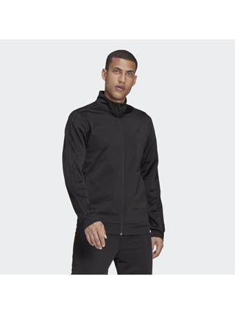 ADIDAS - Primegreen Essentials Warm-Up 3-Stripes Track Jacket BLACK BLACK