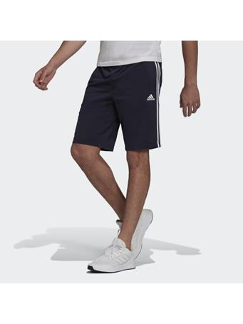 ADIDAS - Primegreen Essentials Warm-Up 3-Stripes Shorts LEGEND WHITE