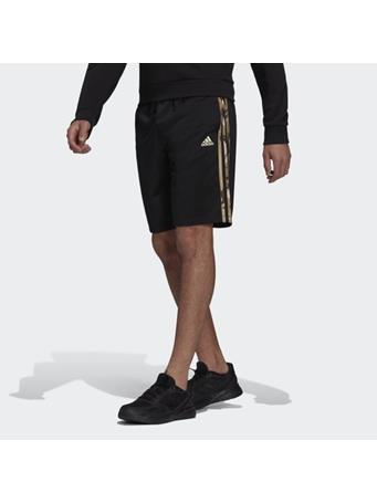 ADIDAS - Primegreen Essentials Warm-Up 3-Stripes Camo Shorts BOLD BLUE