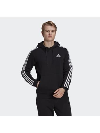ADIDAS - Essentials Fleece 3-Stripes Hoodie BLACK