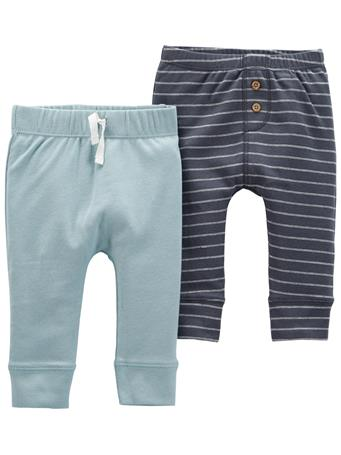 CARTERS - 2-Pack Pull-On Pants BLUE NAVY